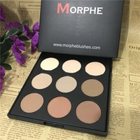 Wholesale Newest MORPHE BRUSHES blush palette colors top quality morphe blush NATURALLY BLUSHED PALETTE high quality