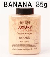bananas nutrition - Brand oz g Ben Nye Banana Powder Natural Face Loose Nutrition Luxury Powder Sealed Beauty Makeup