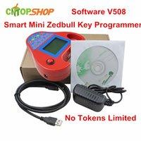 Venta al por mayor del precio de fábrica mini-Zed Bull clave del programador de Zedbull clave del transpondedor completo de la máquina Soporte de múltiples marcas Coches 3 años de garantía