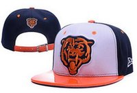 bears player - Discount price Bears Chicago snapback Caps Adjustable Football Snap Back Hats Black Snapbacks High Quality Players Sports