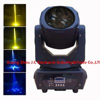 Wholesale 4eyes LED w High Brightness White Beads Super Beam Moving Head Light color wheel CH