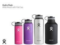 Wholesale 40 oz Hydro Flask Insulated Stainless Steel Water Bottle Wide Mouth Double wall vacuum insulated Hydro Flask water bottle keeps drinks