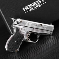 Wholesale Mini Novelty Metal Pistol Jet Flame Windproof Cigarette Cigar Gun Lighter