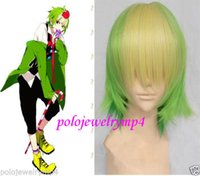 apples wigs - gt Cosplay Short Apple Green Blonde Mix Heat Resistant Wig