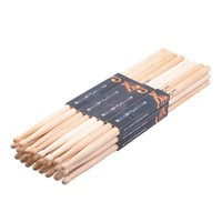 Wholesale Hard Hand Pair of A Maple Wood Drumsticks Stick for Drum Drums Set Lightweight Professional I344 Top Quality