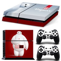Cheap Vinyl For Star Wars PS4 Sticker For Sony Playstation 4 Console+2 controller Skin Sticker For PS4 Skin No:0020 Free Shipping