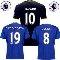 Wholesale Top Thai Blues Chelsea Jersey Chelsea Football Rugby Jerseys Shirt HAZARD OSCAR DIEGO COSTA Willian Kante Batshuayi
