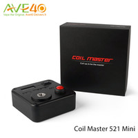 Wholesale 100 Original Coil Master Geekvape Tab Mini Geek Vape Digital Tab Measuring Range to ohm DHL