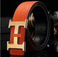 Wholesale Men s belts belts smooth mouth belt Ms belt
