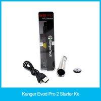air slide design - Kanger Evod Pro Starter Kit All in One Design ml Capacity and mah Built in Battery Sliding Symmetrical Air Flow Valve