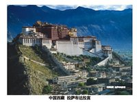 Wholesale Hello China Beijing views the whole of China Potala Palace in Tibet Qomolangma Terracotta Warriors in Xi an postcards
