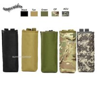 basketball water bottles - Outdoor Sports Molle Hydration Pack Assault Combat Military Camouflage Molle Bag Tactical Molle Pouch Insulated Water Bottle Pouch