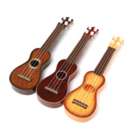 Wholesale Mini Fashion Childs Childrens Learning Musical Instrument Education Little Acoustic Plastic Kids Guitar Toy Gifts For Practice