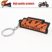 Wholesale New high quality COOL GIFT Motorcycle motorbike keychain keyring key chain fits for KTM DUKE