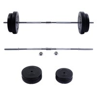 barbell weight sets - Barbell Dumbbell Weight Set Gym Lifting Exercise Curl Bar Workout
