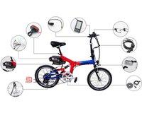 Prezzi Kit e bike-Kit 250W / 350W / 500W E Bike Kit bici elettrica di conversione con batteria a pedale Assist LED sensore con display LCD opzionale (CK-FG01)