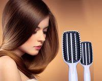Wholesale TT Blow Styling Full Half Paddle Brushes Tangle Detangling Combs No Teezer Hair Brush