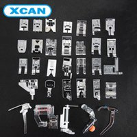 alloy domestic - New Domestic Sewing Machine Presser Foot Feet Kit Set For Brother Singer Janome