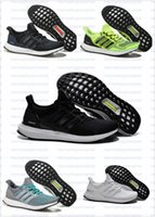 fabric mesh - 100 original quality summer autumn mens fashion Ultra Boost Mesh Breathability sports shoes running shoes drop shipping size