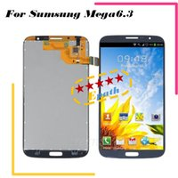 Cheap Original LCD Screen For Samsung Galaxy Mega 6.3 i9200 i9205 i527 LCD Assembly Display Touch Screen Digitizer Replacement NO Frame