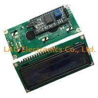 Wholesale LCD1602 I2C LCD module Blue screen IIC I2C LCD1602 IIC for arduino LCD1602 Adapter plate