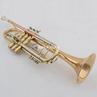 Wholesale JBTR Bb trumpet three tone number B flat trumpet pipe band instruments