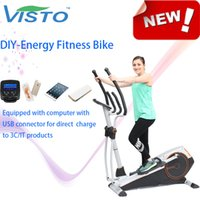 Wholesale Self generating Fitness Bike Green Power Bike Magnetic Bike elliptical bike recumbent bike