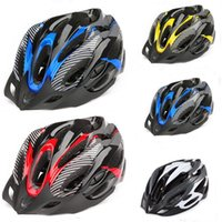 Wholesale Ultralight EPS PVC Air Vents Road Bicycle Helmet Safety Cycling Helmets Fit For Head CM B094