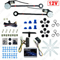 auto service kit - Car Auto Universal Doors Electric Power Window Kits with Set Switches and Harness long service life