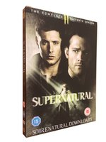 Wholesale Exclusive version New Supernatural Seasons UK Version TV series DVD BOXSET movies DHL