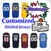 basketball types - Custom Jersey With Logo and brand Customized Swingman Stitched type Handmade basketball jersey sport custom made Shirt SW HOT