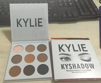 Wholesale STOCK Carbonate Mud Mask New Kylie Cosmetics Bronze Eyeshadow KyShadow Palette