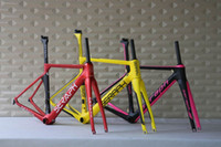Wholesale SERAPH brand aero road carbon frame oem products popular paint