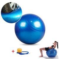 abdominal exercises ball - CM Gymnastic Ball Fitball Exercise Ball For Fitness Balls Gymnastics Fit Yoga Outdoor Sports Abdominal Back leg Workout Sd046