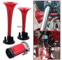 air horn kit - 135db V Powerful DC Dual Trumpet Air Horn Compressor Kit Train Motorcycle Car Truck Boat