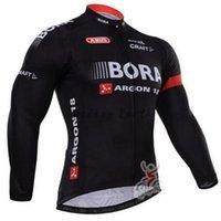 Wholesale Stylish New Bora cycling jersey long sleeve Cycling clothing wear winter men cycling clothing Racing Bicycle Jerseys