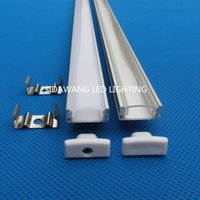 aluminium sink - 10sets m x m per piece Aluminium Profile Alloy Channel HEAT SINK for LED Strip Light QC2507