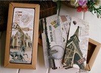 architecture schools - 30 Europe and the United StatesCity Architecture Mark The world Scenery Retro paper Bookmark Boxed