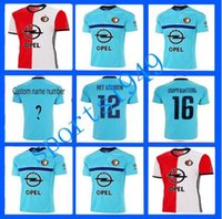 Wholesale rugby Feyenoord Rotterdam Jerseys Shirt HET HETLEGIOEN THAI Wholesalers jersey home away Thailand quality
