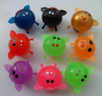 Wholesale Hot Sale New all kinds Splat Ball Lovely animal fruit and Animal Vent ball Funny toys HY992