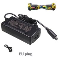 Wholesale Universal Hoveboard Charger Battery Charger For Electric Self Banlancing Scooter Hoverboarrd With US EU Plugs Refly With UL CE Rohs FCC