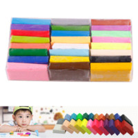 Wholesale Educational Colorful FIMO Effect Polymer Clay Blocks Soft EH clay block brick block graphics