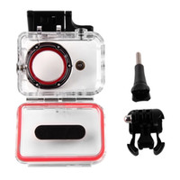 Wholesale 1pcs M Underwater Diving Sports Waterproof Case Box For Xiaomi Yi Camera Hot Worlwide