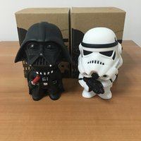 Wholesale 10cm Q Style Star War Darth Vader STORM TROOPER Action Figure Model Toy Come with Retail Box