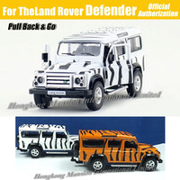 Big Kids army toys vehicles - 1 Scale Diecast Alloy Metal Army Camo Military Vehicle Car Model For TheLand Rover Defender Collection Model Pull Back Toys