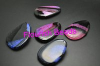 agate slab - Trendy Style Oval Shape Bright Color Slab Agate Woman Pendant MM Fit Various Necklace Jewelry Making Materials PC
