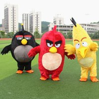 Wholesale high quality Angry red bird mascot costume for adults Angry red bird mascot costume material