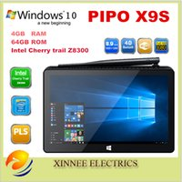 Wholesale PIPO X9S Mini PC Intel Cherry trail Z8300 Quad Core Windows OS inch Touch Screen BT4 G G Tablet