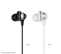 baby structure - In Ear for iPhone Earphones Baby Grade Silicone Soft and High Wire Structure to Pull Anti Tangling Durable L1 Lightning Digital Earphone