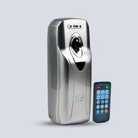 Wholesale Silver Remote Control Automatic Aerosol Dispenser Wall Mounted Hotel Toilet Aerosol Perfume Dispenser CE Air Fresheners